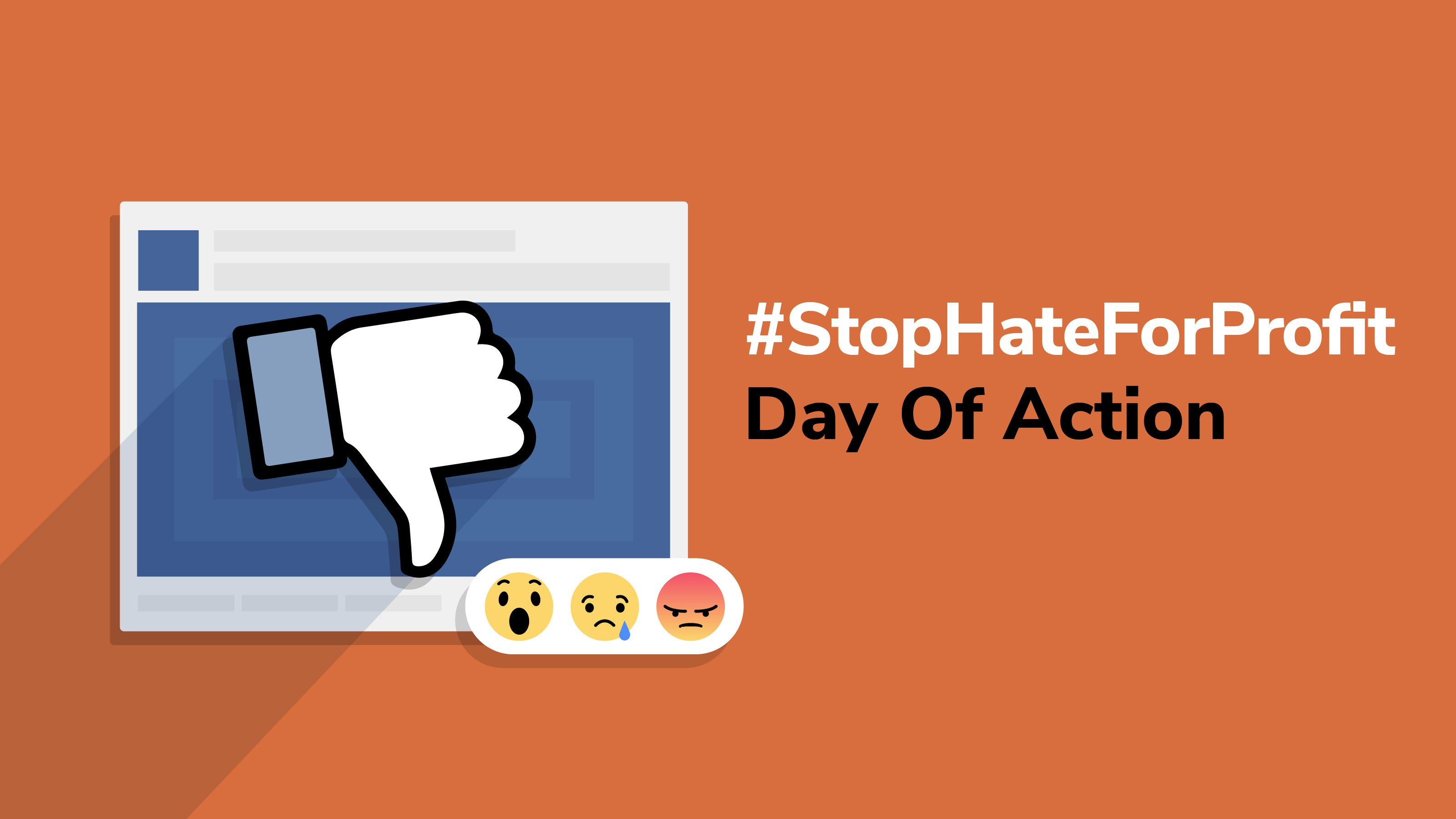 Join the global day of action and tell Zuckerberg and Facebook to be accountable to people and not profits