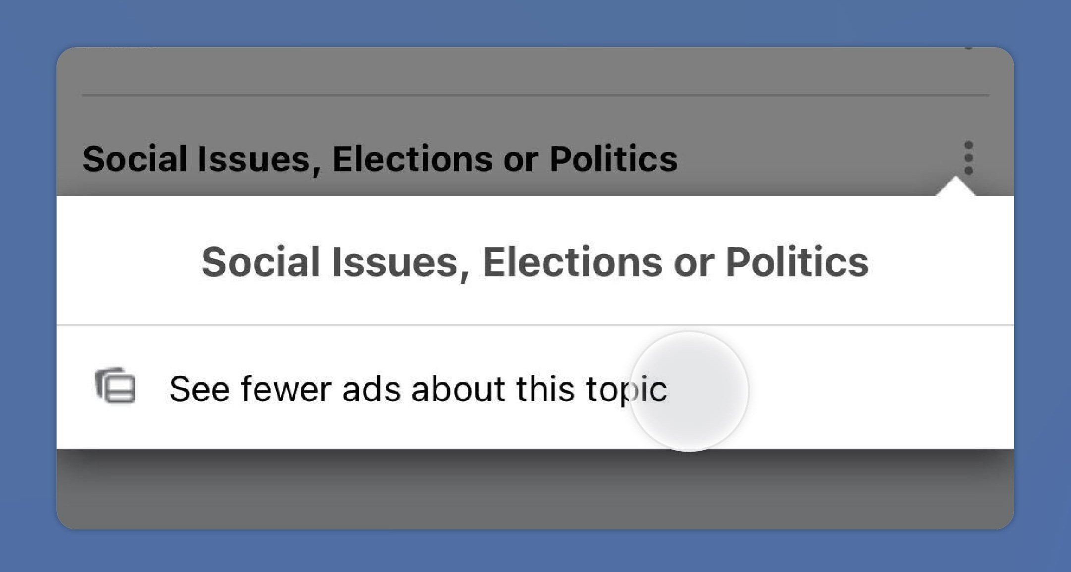 See fewer ads about this topic.