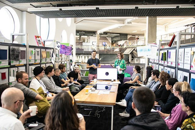 A session in process at MozFest 2018