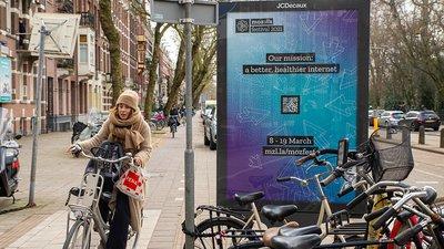 MozFest Signage in Amsterdam