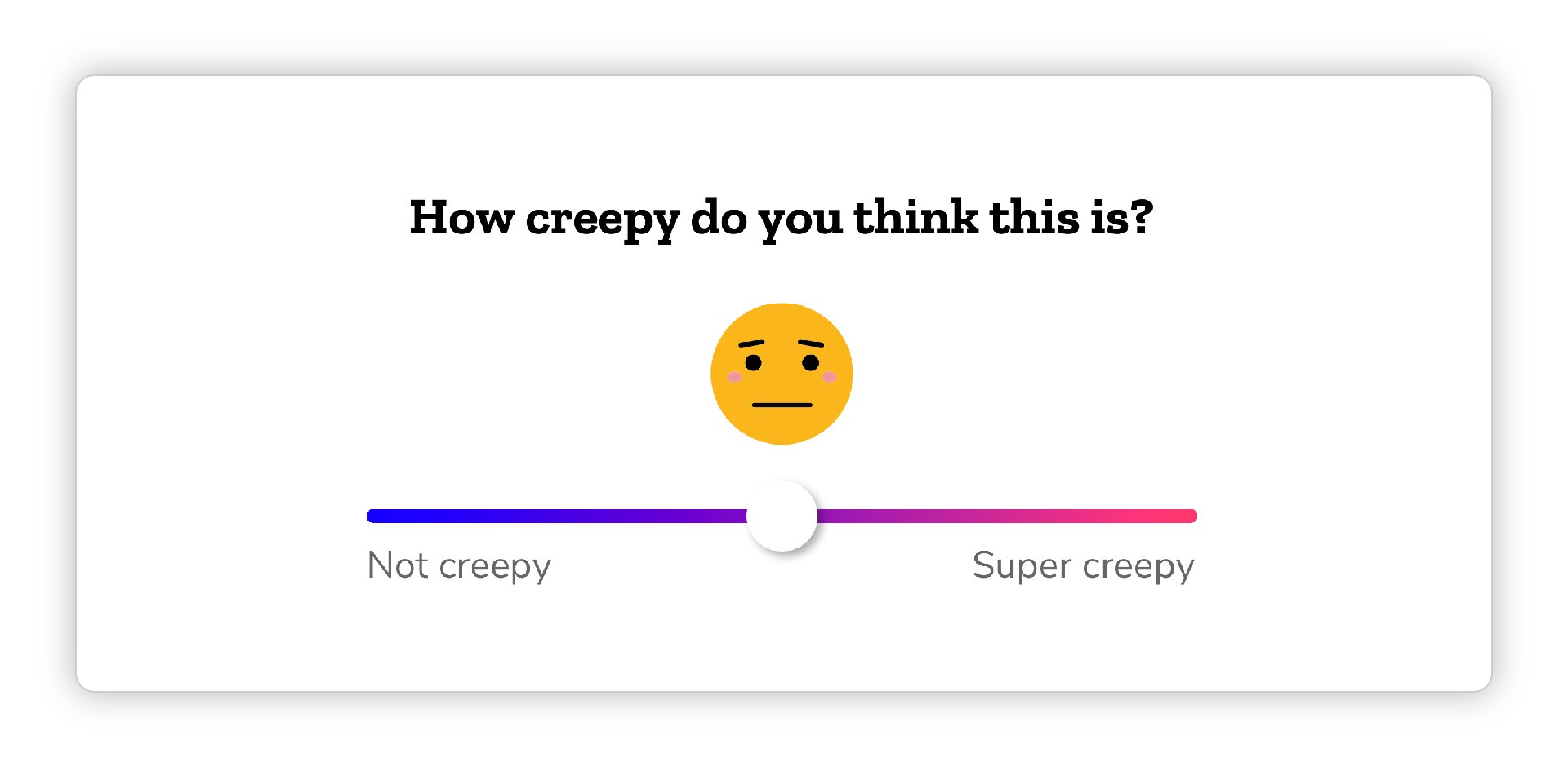 image of creep-o-meter