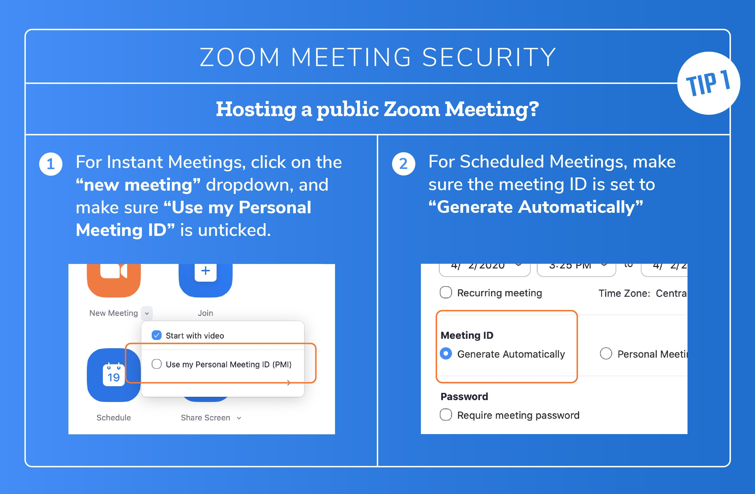 How to generate a random Zoom meeting ID