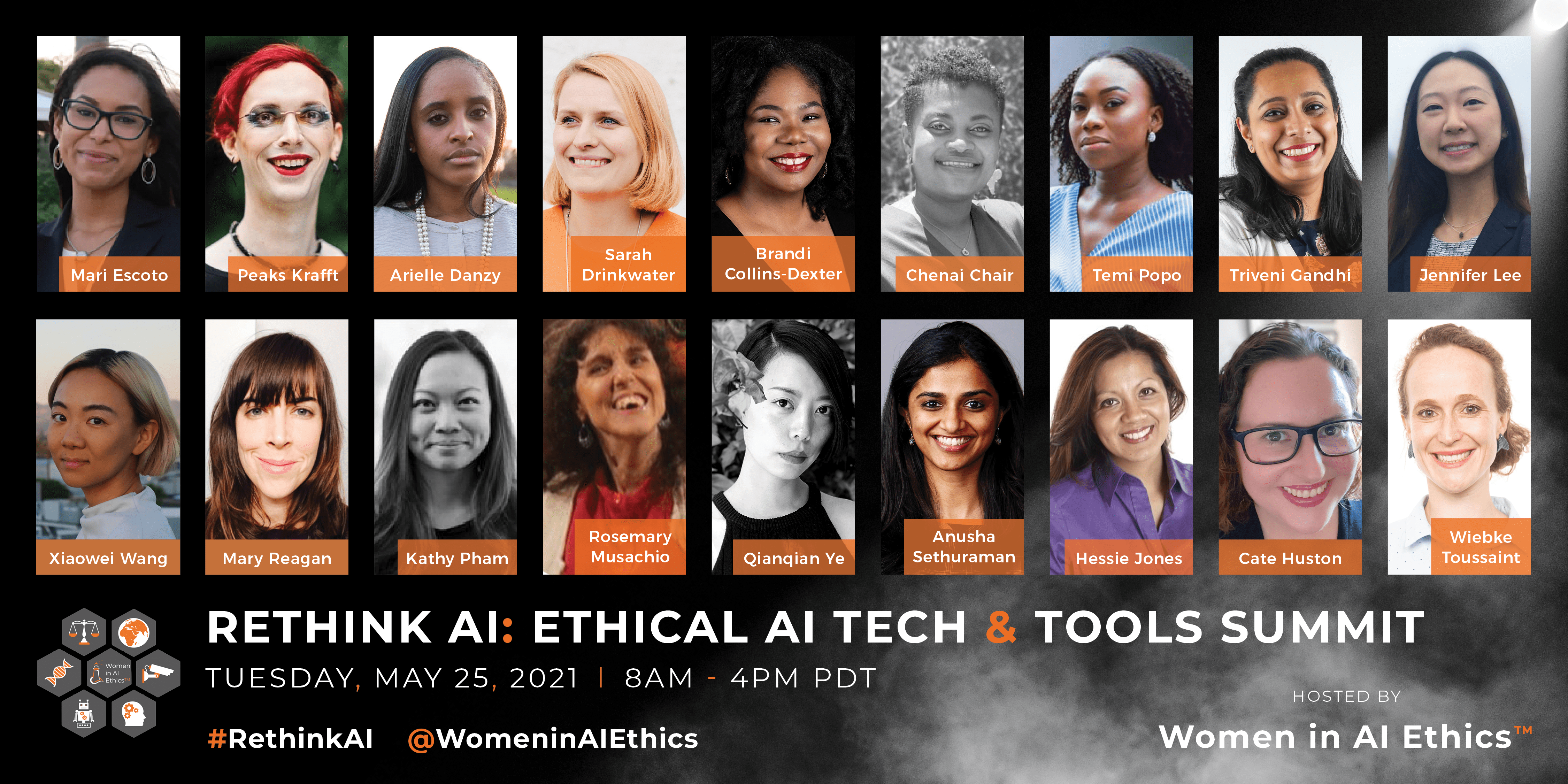 Women in AI Ethics Event Poster