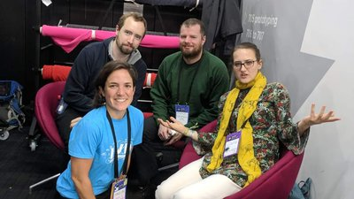 Google Open Source team at MozFest 2018