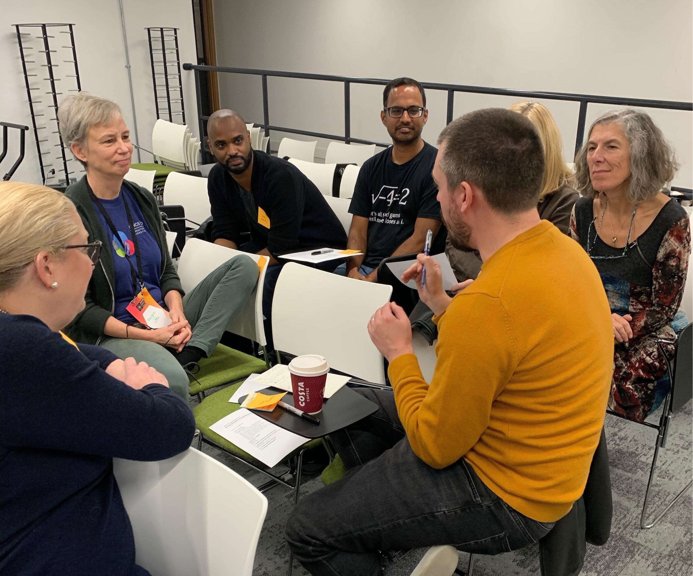Georgia Tech Role Playing Scenario at MozFest 2019