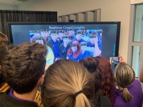 Miami Dade College, Students Engaging in Facial Recognition