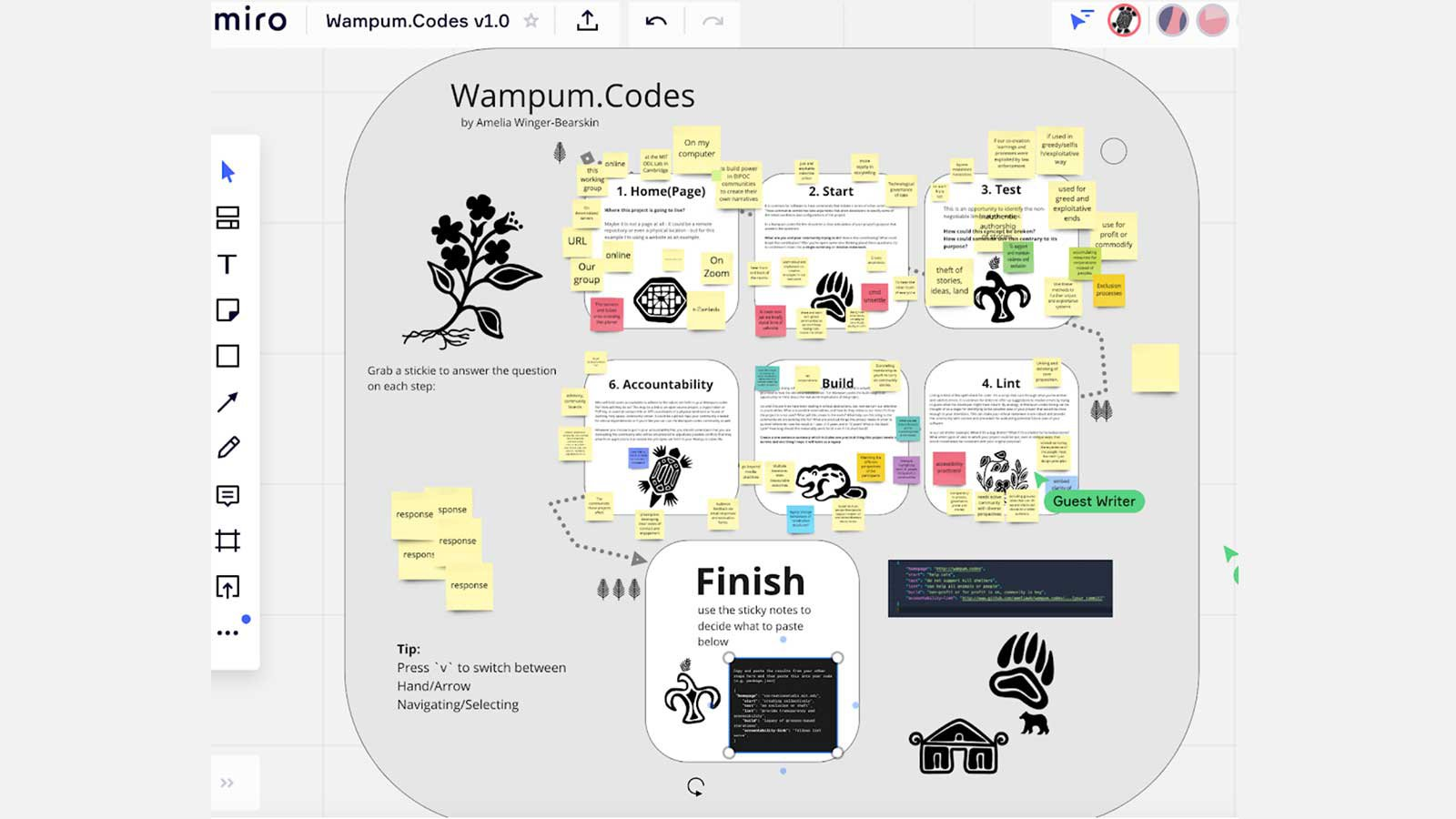 Wampum.Codes interactive workshop