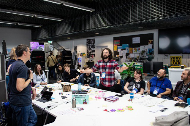 Collaborating at MozFest