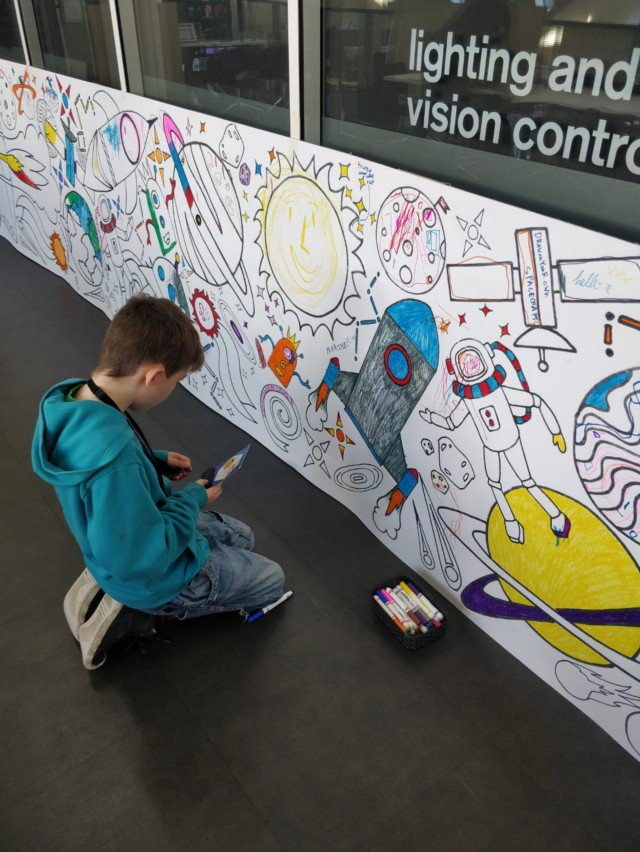 A young participant in the Youth Zone